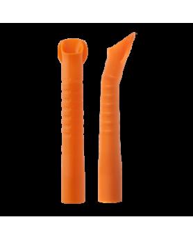 Пылесосы для аспирации слюны и фракции Monoart оранжевые автоклавируемые D=16 мм, 10шт.