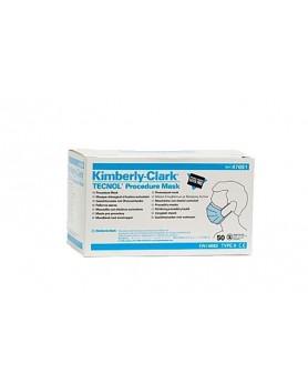 Маски Kimberly–Clark (50шт.) голубые
