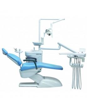 Установка стоматологическая Azimut 100А н.п. темно-синий, 2 стула в комплекте