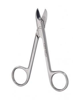 Ножницы по металлу прямые, 10,5 см, 1 шт.
