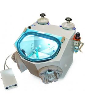 Пескоструйный аппарат для литейной лаборатории АСОЗ 5.2 У