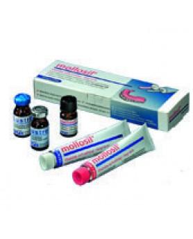 Моллосил Mollosil (2х30мл.) материал для перебазировки протезов