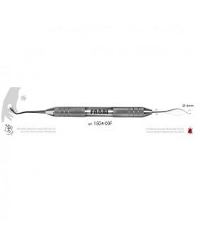 Инструмент  для моделирования  фиссур и мамелон (атравматичный) 1504-03F Фабри