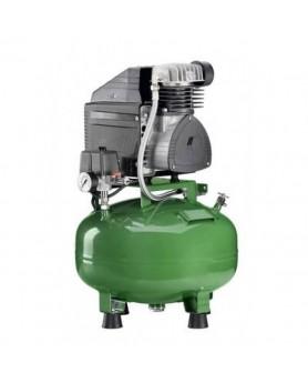 Компрессор KD 124 B безмасляный для одной стоматологической установки, без осушителя, с кожухом, с ресивером 24 л (60 л/мин)