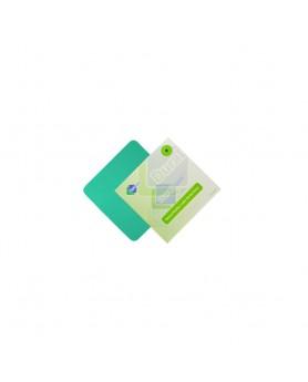 Листы латексные Дентал Дам 6х6, толщина 0,18мм, зеленые медиум