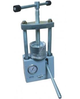 Пресс зуботехнический гидравлический для обжатия кювет и выпрессовки гипса