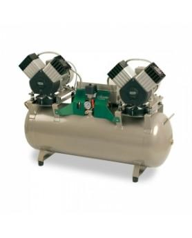 Компрессор DK50 2x2V/110 (280 л/мин., резервуар 110 л)