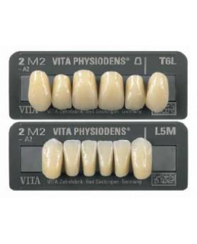 A42M2L34 VITA MFT Anteriores, 2M2, L34, зубы акриловые, фронт, низ (6 шт.)