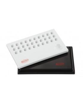 1065-0100 Палитра Stain-Mix для красителей с черной крышкой, 15.5 х 9.5см