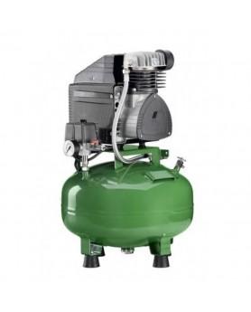 Компрессор KD 124 безмасляный  для одной стоматологической установки, без осушителя, без кожуха, с ресивером 24 л (60 л/мин)