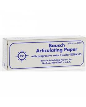 "Артикуляционная бумага ""Bausch"" ВК 05 (синяя) 200 мкм"