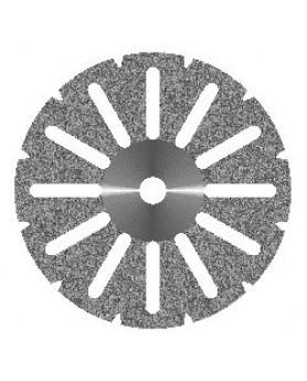 Диск алмазный Акрил 12 прорезей, диаметр 22мм. (1шт.), Агри