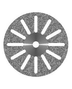 Диск алмазный 12 прорезей, диаметр 22мм. (1шт.), Агри
