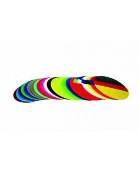 Пластины для изготовления капп DRUFOSOFT Color Mix 3х120 мм, 25шт.