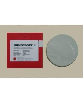 Пластины для изготовления капп DRUFOSOFT 1,5х120мм, прозрачные, 20шт