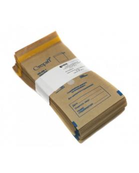 """Пакет бумажный самокл""""Стерит""""крафт 100х200 100шт."""