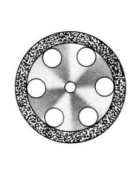 Алмазный диск DISC 911/220 Standart, толщина 0,55мм, двусторонний (1шт.), SS White