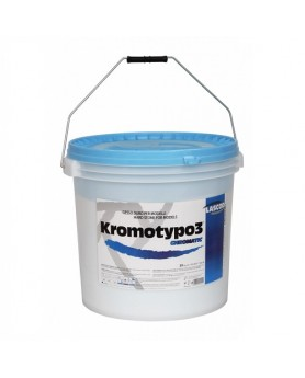 Гипс 3 класс Kromotypo синий 6кг Lascod