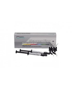 Некскомп Nexcomp Flow А3 (2 шприца по 2 гр. и 10 одноразовых наконечников)