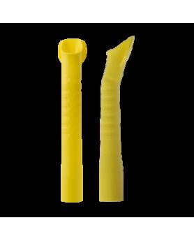 Пылесосы для аспирации слюны и фракции Monoart желтые автоклавируемые D=16 мм, 10шт.