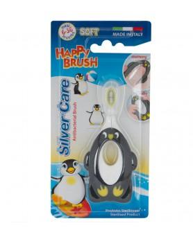 """Зубная щетка для малышей """"Silver Care"""" Happy Brush Soft 6-36 месяцев арт.654"""