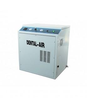 Компрессор Dental Air 3/24/39 безмасляный воздушный на 3 установки, с кожухом, 200 л/мин