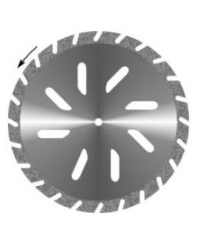 Диск алмазный Гипс косая прорезь, диаметр 30мм. (1шт.), Агри