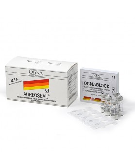 Ауреосил AUREOSEAL для пломбирования корневых каналов (порошок 5 фл. х 400 мг.)