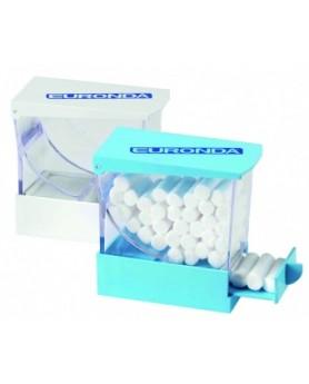 Диспенсер для ватных валиков белый (EURONDA, Италия)