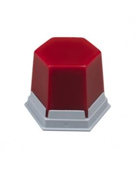 489-1000 Воск для закрытия поднутрений красный, прозрачный  ГЕО 75 г.