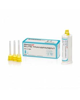 Элит Транспарент Elite Transparent (50мл.) жидкий, прозрачный А-силикон, Zhermack (Италия)