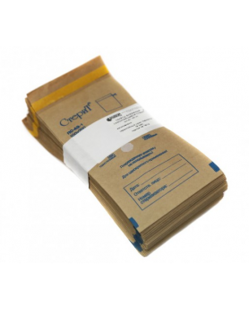 """Пакет (150х280мм) бумажный крафт """"СтериТ"""" 100шт."""