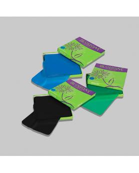 Листы латексные Блоссом для коффердама 152*152мм 36 шт зеленые