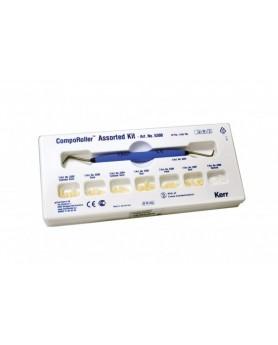 Компороллер CompoRoller Assorted Kit Состав: 1 рукоятка Comporoller, по 7 насадок каждой формы (всего 49 шт.)