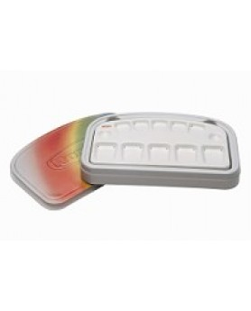 "1058-0000  Палитра для керамики""Rainbow"""