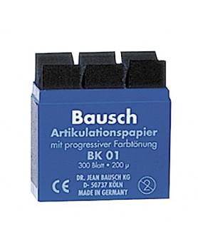 "Артикуляционная бумага ""Bausch"" ВК 01 (синяя) 200 мкм"