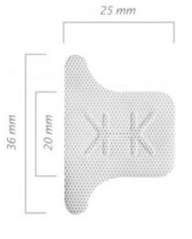 Мембрана Cytoplast Ti-250 Posterior Singles T2, 25х36 мм
