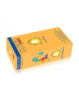 Перчатки L 8-9 Safe&Care латекс (100шт.)