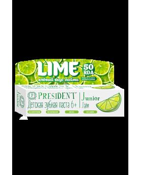 Детская зубная паста PresiDENT Junior 6+ 50мл