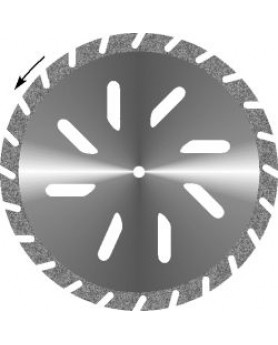Диск алмазный Гипс косая прорезь, диаметр 45мм. (1шт.), Агри