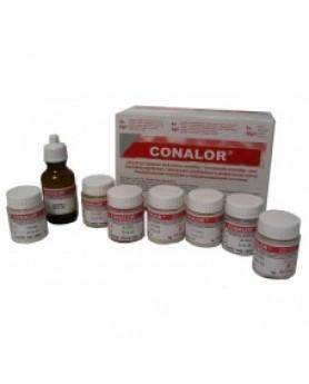 Коналор набор - универс. опаковый краситель(30 гр.порошок, 16 мл. жидкость)