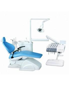 Установка стоматологическая Azimut 100А в.п. светло-синий, 2 стула в комплекте