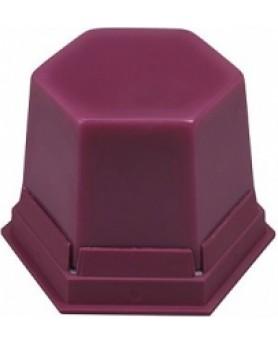 488-1000 Воск клеевой розовый прозрачный GEO Sticky wax pink transparent 75г.