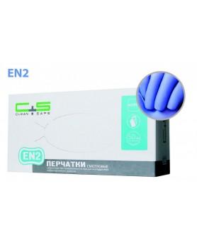 Перчатки 6-7 S Clean+Safe нитриловые 100шт. EN2