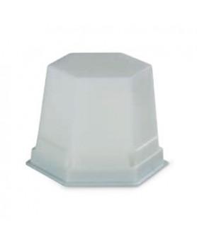 499-0201 Воск мод. белый прозрачный GEO Classic Snow-white 75 г