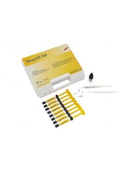 Megafill MF (8шпр х 4,5г. A2-2/A3-2/A3,5/B2/DA2/DA3, адгезив, гель протравочный, принадлежности)
