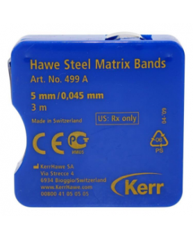 Матрицы Керр Hawe 499A 5мм, толщиной 0,045 мм