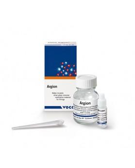 Аргион Argion стеклоиномерный материал (Порошок 15 г с капельной дозировочной бутылью)