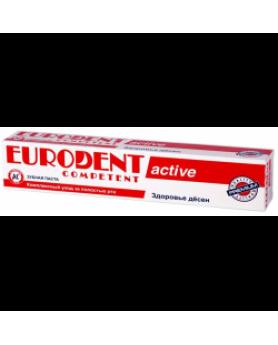 Зубная паста Competent active 75мл